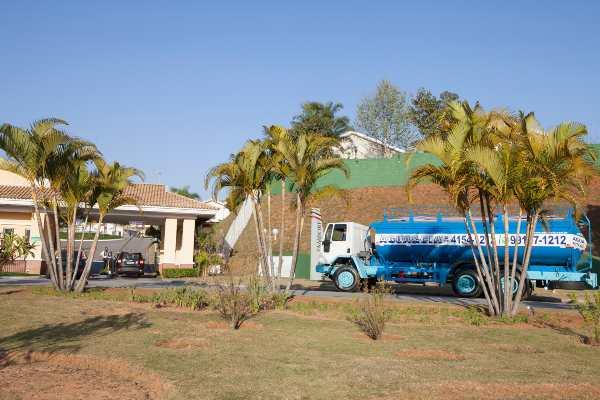 transportye de água para condomínios residenciais