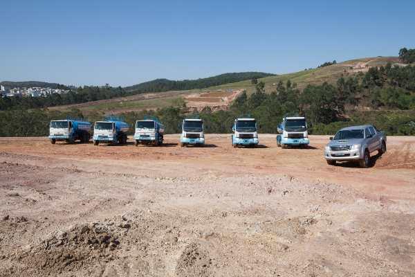 locação de caminhões pipas